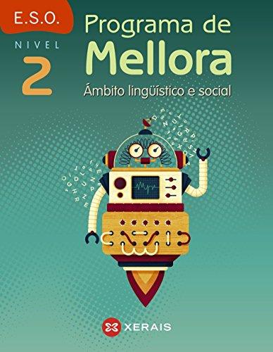 Programa de mellora. Ámbito lingüístico e social. Nivel 2 (Libros De Texto - Educación Secundaria Obrigatoria - Lingua) - 9788491212287