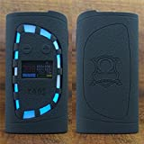 ModShield for Sigelei KAOS Spectrum 230W TC Silicone Case ByJojo Sleeve Wrap Skin Cover (Black)