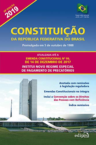 Constituição da República Federativa do Brasil 2019