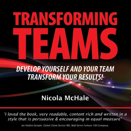 Transforming Teams audiobook cover art
