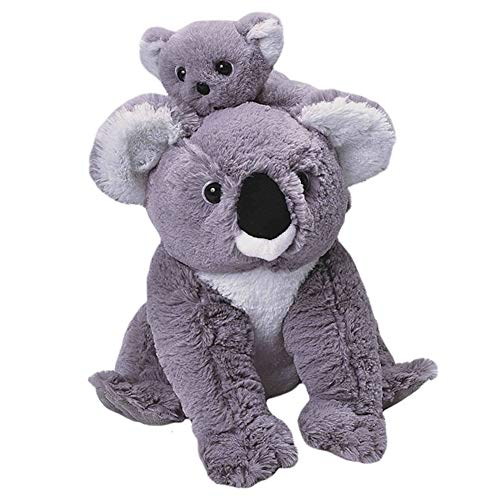 Wild Republic Mom and Baby Koala, Stuffed Animal, 12 inches, Gift for Kids, Plush Toy, Fill is Spun Recycled Water Bottles