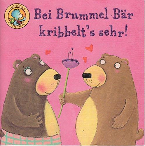 Bei Brummel-Bär kribbelt's sehr! - LINO BUCH 184 (mit Glimmer) - Einzeltitel aus BOX 31