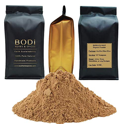 BODi : Burdock Root - 100% Pure Organic Powder (4 8 16 32 oz) (8 oz)