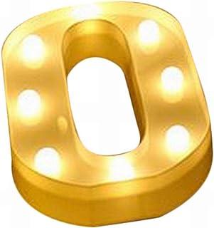 Plus Nao(プラスナオ) イニシャルライト AからT アルファベット オブジェ LEDライト マーキーライト コードレス イルミネーション 電池式