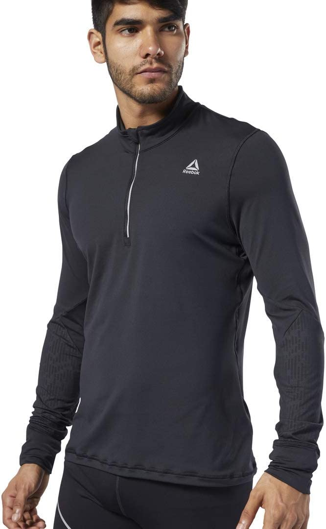 Reebok Mens One Series Running Thermowarm Sweatshirt
