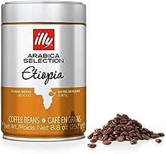 Illy Coffee Whole Bean Arabica Ethiopia - 8.8oz