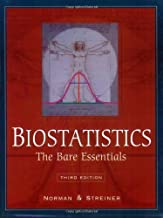 Biostatistics The Bare Essentials, 3e by Geoffrey R. Norman, David L. Streiner [pmph usa,2007] (Perfect Paperback) 3rd Edition