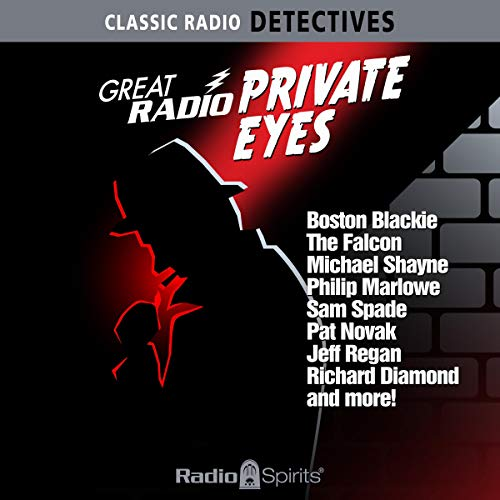 Great Radio Private Eyes cover art