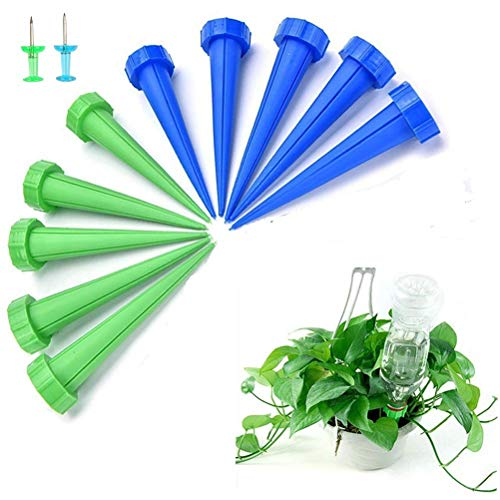 LATERN 12Pcs Automatic Plant Watering Spike, Plant Watering Drip Irrigation...