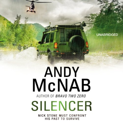 Silencer audiobook cover art