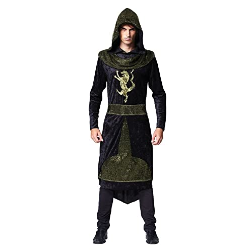 b9ffc5b9e1fa Bristol Novelty AC511 Medieval Prince Costume, 42-44-Inch