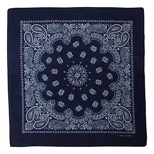 Alex Flittner Designs Bandana mit exclusivem Paisley Muster in dunkelblau