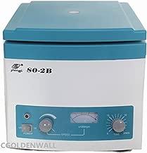 CGOLDENWALL Low-speed Centrifuge Desktop Electric Medical Centrifuge 80-2B