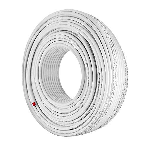 BanabaB 300M PEX AL PEX Verbundrohr 16 x 2mm Aluminium-Mehrschichtrohr Sauerstoff-Barriere Fußbodenheizung PEX Rohr Heißes und Kaltes Wasser PEX Rohr