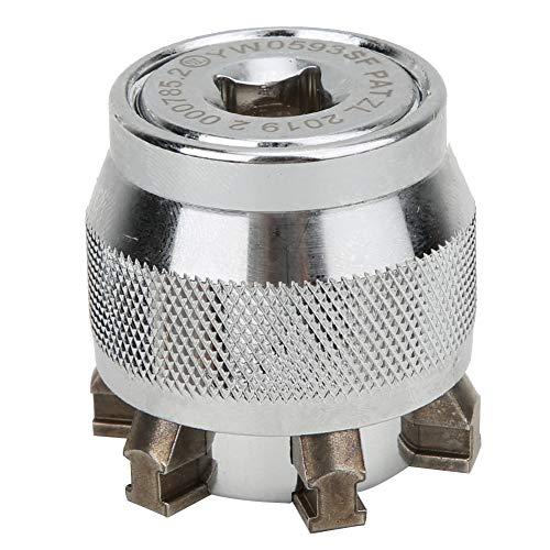Enchufe universal, enchufe para llave, enchufe ajustable mágico de metal para tuerca de 10~19 mm 3/8~3/4 pulg, Enchufe adaptador de accesorio de taladro múltiple