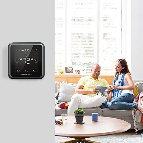 Honeywell Home RCHT8610WF2006/W, T5 Smart Thermostat, Black