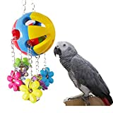 Papagei Kauen Spielzeug für Vogel Macaw Afrikanische Graustufen Eclectus Wellensittiche Sittich Nymphensittich Kakadu Conure Amazon Lovebirds Cage