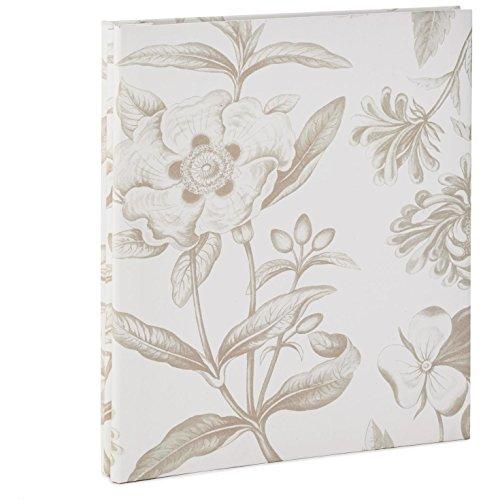Hallmark Tan Floral Botanical Refillable Photo Album Photo Albums Animals & Nature