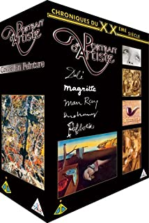 Coffret Peintres du XXeme siècle - Vol.2 : Jackson Pollock / René Magritte / Salvador Dali / Marcel Duchamp / Man Ray