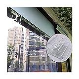 GGYMEI PVC Transparente Franja Cortina, Partición Transparente...
