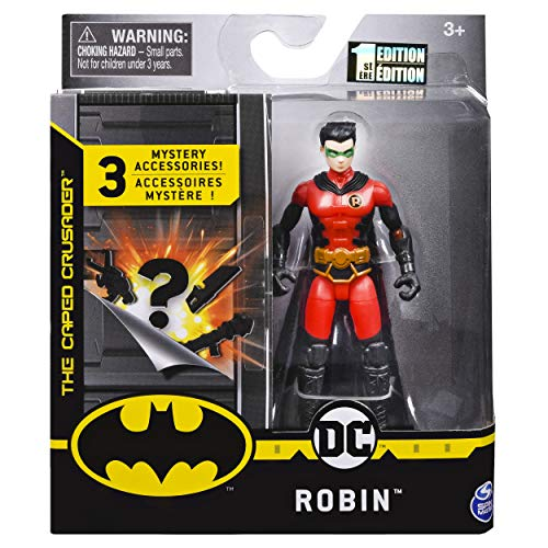 DC Batman 2020 Robin (Red Costume) 4-inch Action Figure by Spin Master