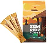 Instant Coffee Packets Single Serve - Slow Ride Coffee, Great Camping Coffee and Versatile for Any Coffee Beverage - 30 Coffee Packets of Premium Vietnamese Coffee