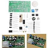 ILS – 5 Set DIY Pyroelectric Infrared Sensor Kit Anti-Theft Circuito tecnología electrónica Conjunto Aprendizaje