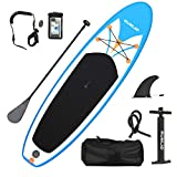 Rumlad Inflatable Stand Up Paddle Board 4 Inches Thick with One-Way Sup Dedicated...