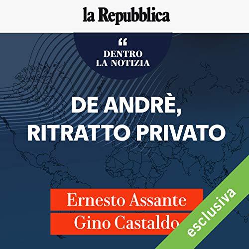 De Andrè, ritratto privato audiobook cover art