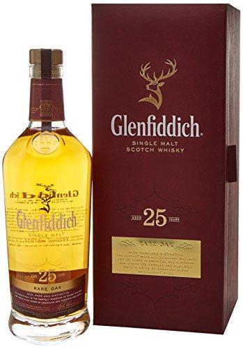 Glenfiddich 25 Year Old - Rare Oak Single Malt Whisky