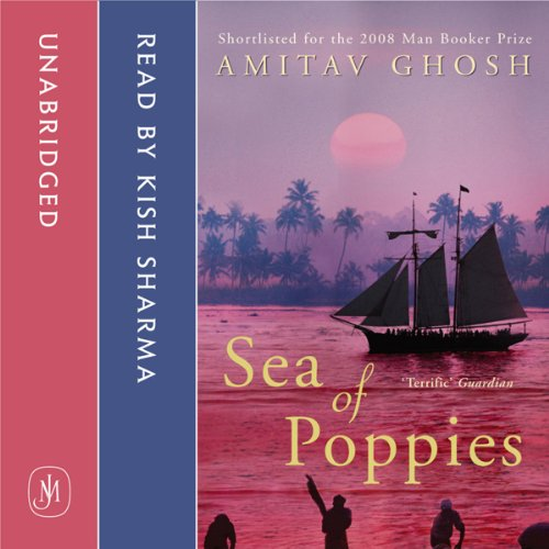 Sea of Poppies audiobook cover art
