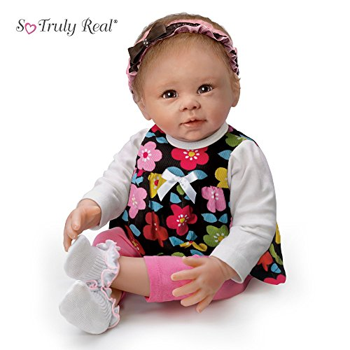 Wunderbare Freya - Babypuppe der Künstlerin Linda Murray