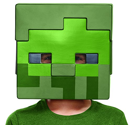 Disguise Minecraft Zombie Costume Mask, One Size Child