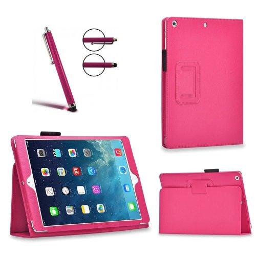 Custodie in pelle con funzione di supporto compatibili con iPad Air, Air 2,Mini 2, Mini 3, Mini 4, iPad Pro