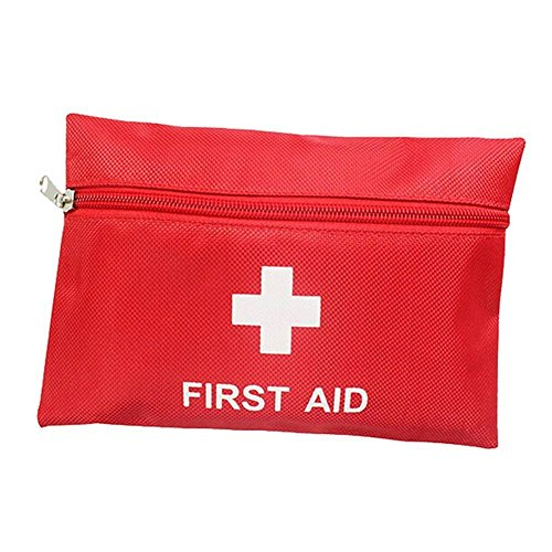 Delmkin Erste-Hilfe-Set Tragbar Outdoor-Reisen/Home Mini wasserdicht Erste Hilfe Set Bag - 11 teilig Set
