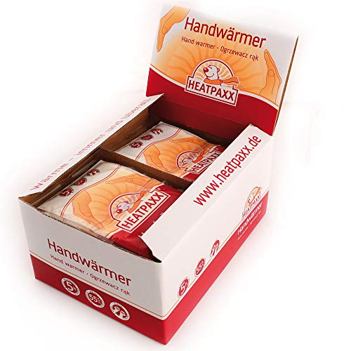 HeatPaxx Handwärmer | 40 Paar | EXTRA WARM | Handliche Taschenwärmer, Wärmekissen für unterwegs | auch gut im Handschuh beim Raynaud Syndrom