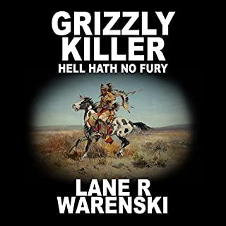 Grizzly Killer: Hell Hath No Fury audiobook cover art