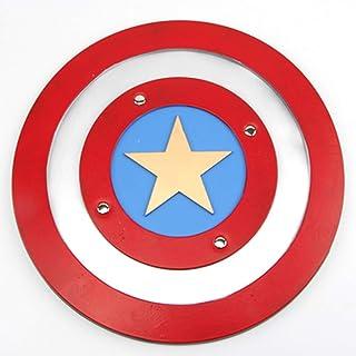 A_Magic アベンジャーズキャプテンアメリカシールド誕生日プレゼントコスプレパーソナルコレクション (Color : Round shield)