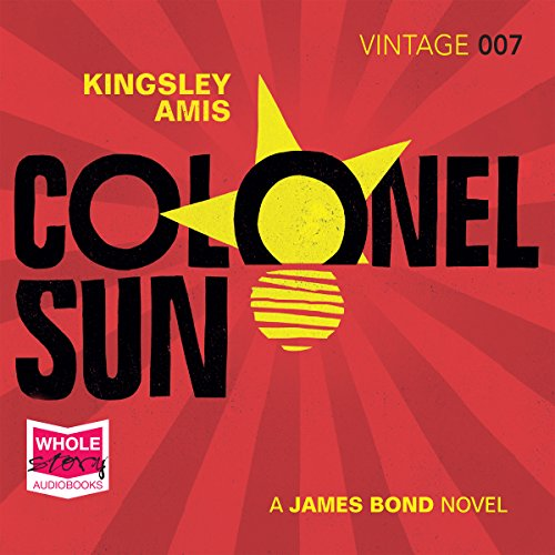 Colonel Sun audiobook cover art