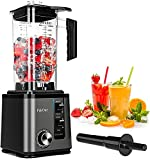 PakOne Blenders for Kitchen Countertop Blender 74Oz Professional Blender High Speed Blenders for Shakes and Smoothies 1800W Powerful Blender Ice Crushing, Frozen Drinks, Self-Cleaning/10-Speed Control