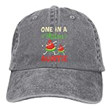 One in A Melon Auntie Funny Sandía Unisex Gorra de béisbol ajustable al aire libre malla gorra Trucker Sombreros Gris