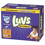 Luvs Luvs Ultra leakguards Diapers Size 3 168 Count, 168 Count