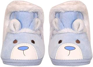 The First Baby Unisex Boys & Girls Soft Suede High Ankle Imported Baby Winter Booties Shoes