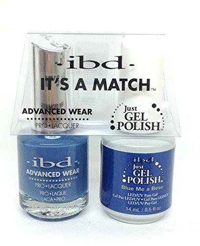 IBD Nagellack-Gel, blau ME A Beso