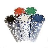 UNCTAD 250 Piezas Bicycle Premium Torneo fichas de Poker - Sensación de Arcilla...