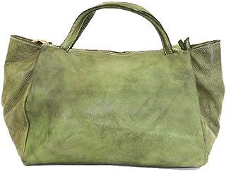 BZNA Bag Diana grün green Italy Designer Damen Handtasche Schultertasche Tasche Leder Shopper Neu (sieht etwas dunkler aus...