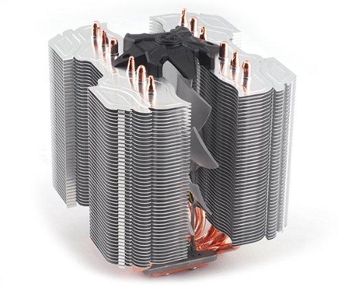 Zalman CNPS14X Procesador Enfriador - Ventilador de PC (Procesador, Enfriador, Socket AM2, Socket AM3, Socket AM3, Socket AM3+, Socket FM1, Intel Celeron D, Intel Pentium 4, Intel Pentium D, Intel Pentium de doble núcleo,..., 14 cm, 950 RPM)