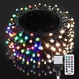 BlcTec LED Christmas Lights 99ft 300 LED Color Changing Christmas Tree Lights...