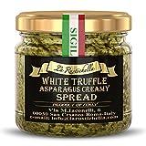 La Rustichella, Oil White Truffle Asparagus Spread, 3.2 Ounce