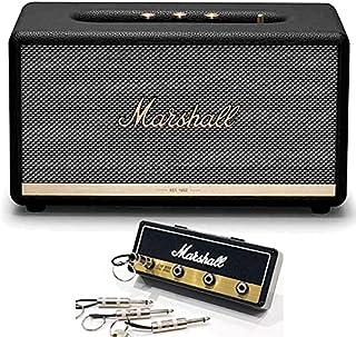 Marshall マーシャル Stanmore2 ブラック スピーカー + Marshall ロゴ入りキーハンガー セット 《国内正規品》
